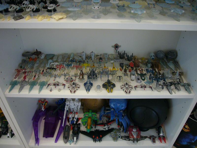 Star Trek Ship Toys Star Trek Ships From Non-human