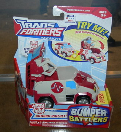 Transformers Animated Bumper Battlers